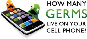 Germs and cell phones