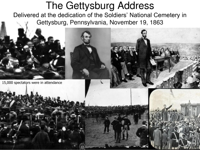 Image result for abe lincoln gettysburg address