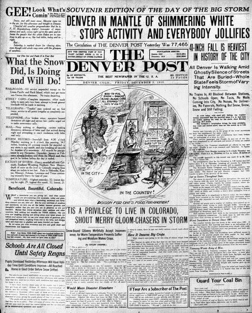 100 year blizzard
